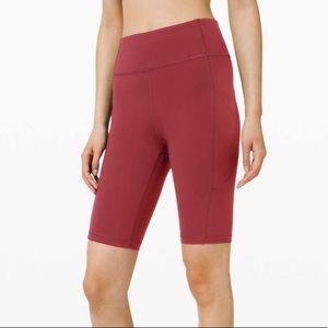 """Lululemon invigorate 10"""" shorts"""